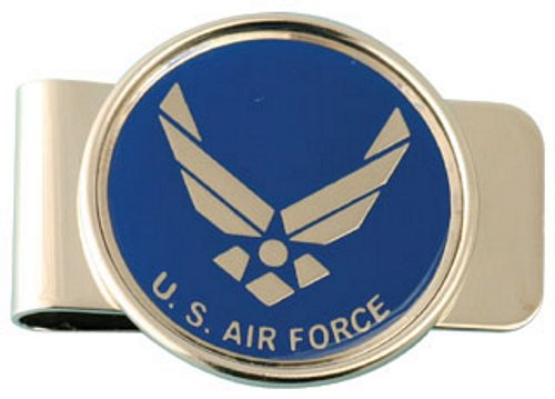 Air Force (New Emblem) Money Clip