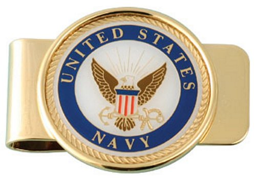 U.S. Navy Crest Money Clip