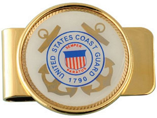 U.S. Coast Guard Crest Money Clip