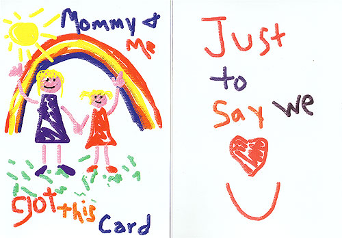 CARD, Mommy and Me