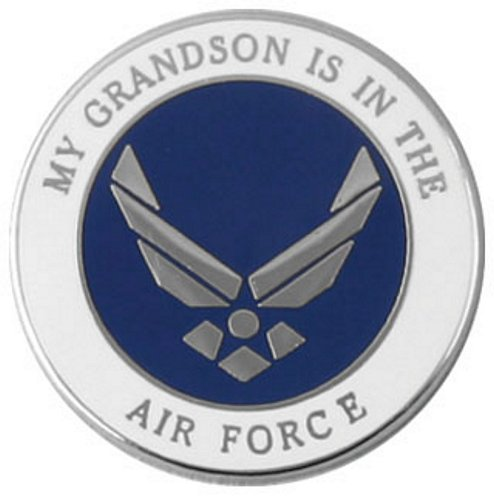 My Grandson is in the Air Force Pin