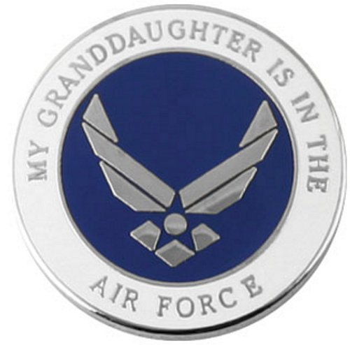 My Granddaughter is in the Air Force Pin