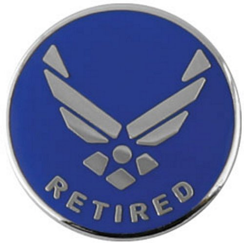 Air Force Hap Arnold Wing Retired Lapel Pin