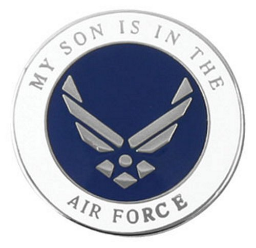 My Son is in the Air Force Wing Logo Lapel Pin