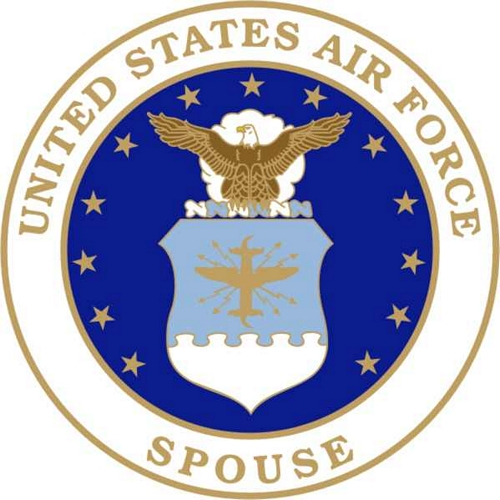 US Air Force Spouse (Crest) Lapel Pin