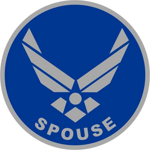 US Air Force Spouse (Wing) Lapel Pin