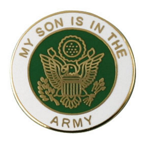 My Son Is In The Army Lapel Pin