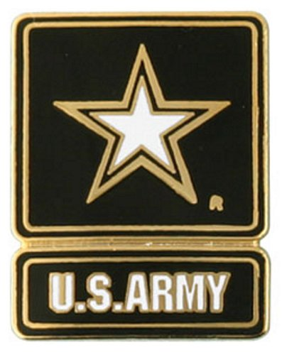 Army Star (New Emblem) Lapel Pin
