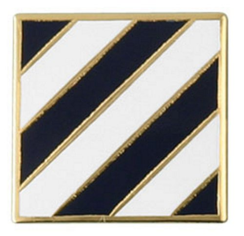 3rd Infantry Division Lapel Pin