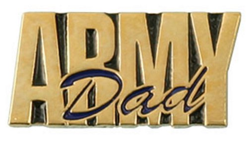 Army Dad Lapel Pin