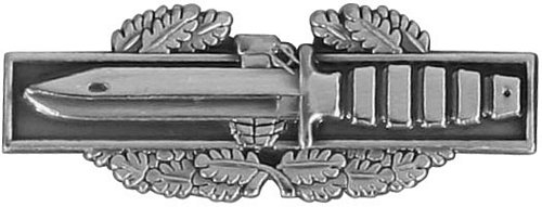 Combat Action Badge Lapel Pin