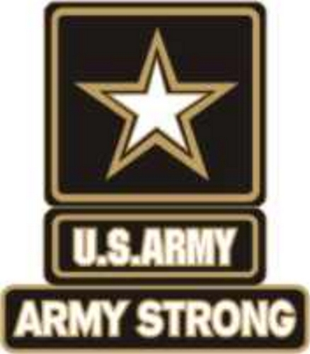 Army Star - Army Strong Lapel Pin