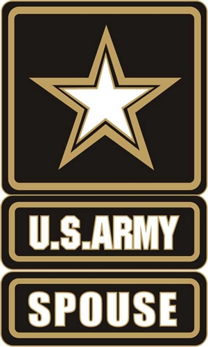 US Army Spouse (Army Star) Lapel Pin