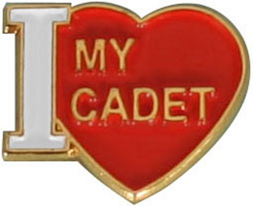 Love My Cadet Pin