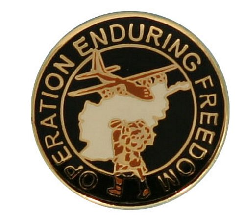 Operation Enduring Freedom Lapel Pin