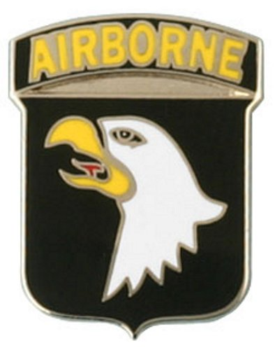 101st ABN Screaming Eagle Lapel Pin