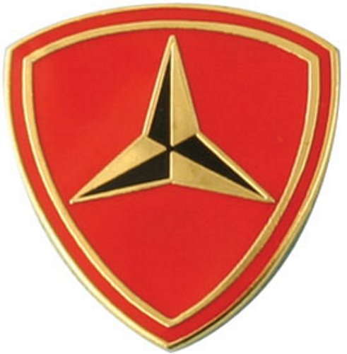 3rd Marine Division Lapel Pin