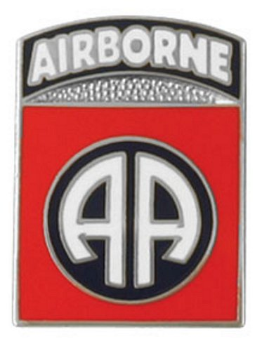 "82nd Airborne ""AA"" Lapel Pin"