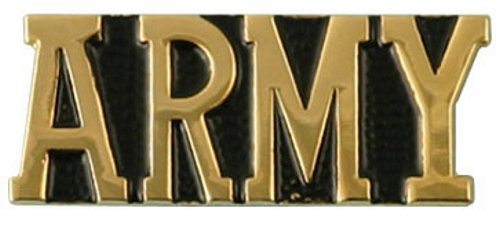 ARMY Word Lapel Pin