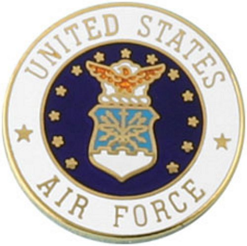 U.S. Air Force Round Lapel Pin