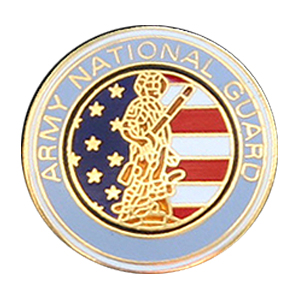 Army National Guard Lapel Pin