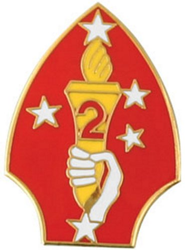 2nd Marine Division Lapel Pin