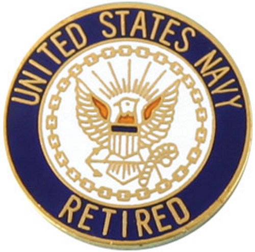 U.S. Navy Retired Lapel Pin