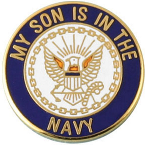 My Son Is In The Navy Lapel Pin