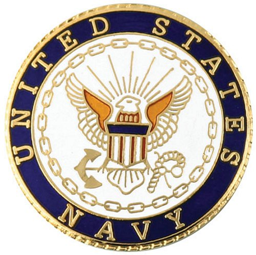 United States Navy (Large) Lapel Pin