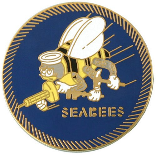 Seabees (Large) Lapel Pin