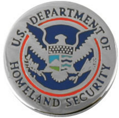 Dept. of Homeland Security Lapel Pin