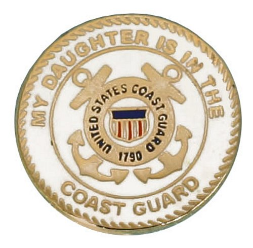 My Daughter is in the USCG Lapel Pin