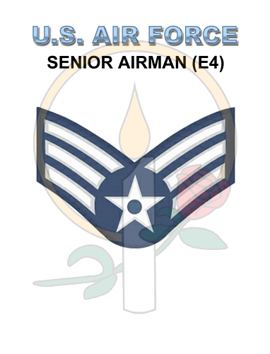Rank Card, Air Force E4