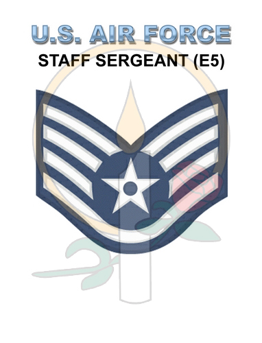 Rank Card, Air Force E5