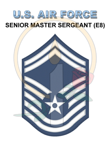 Rank Card, Air Force E8 SrMSGT