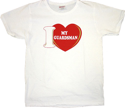 I LUV My Guardman T-Shirt
