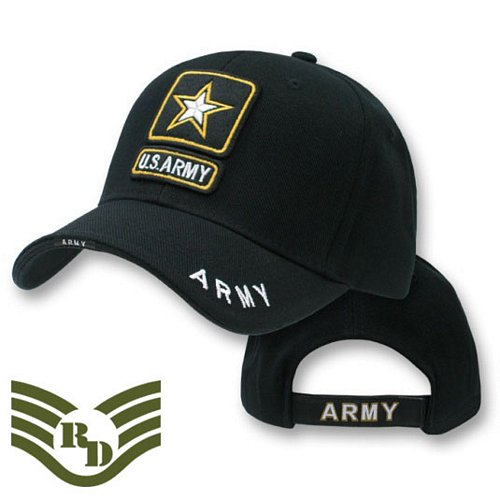 Army Star Deluxe Logo Caps