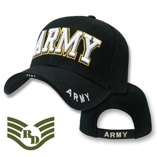 Army Text Deluxe Logo Caps