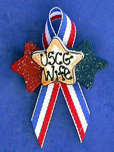 Triple Star Pin, USCG Wife