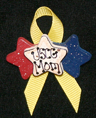 Triple Star Yellow Ribbon, USCG Mom