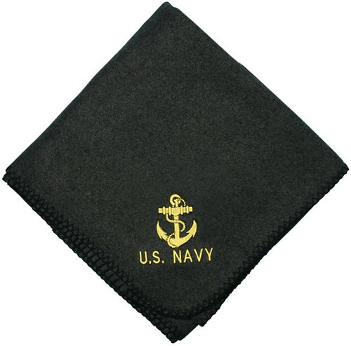 U.S. Navy Anchor Embroidered Stadium Blanket