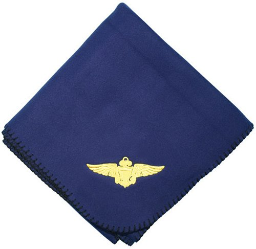 Naval Aviator Wing Embroidered Stadium Blanket