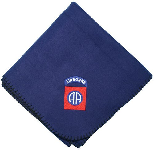 82nd Airborne Logo Embroidered Stadium Blanket