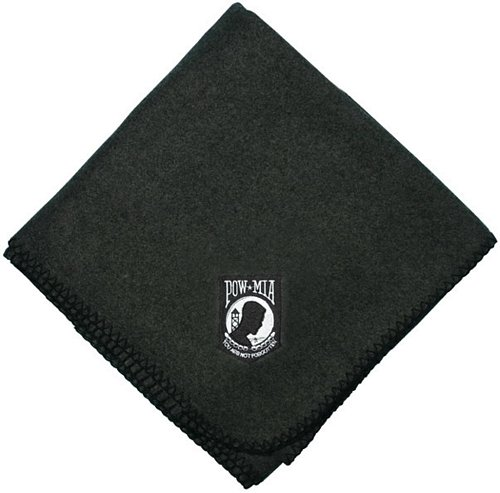 POW*MIA Embroidered Stadium Blanket