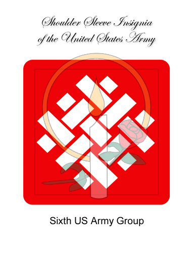 SSI CARD, Sixth Army Group