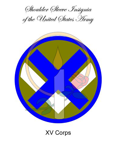 SSI Card, XV Corps