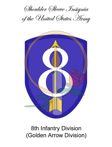 SSI Card,  8th Infantry