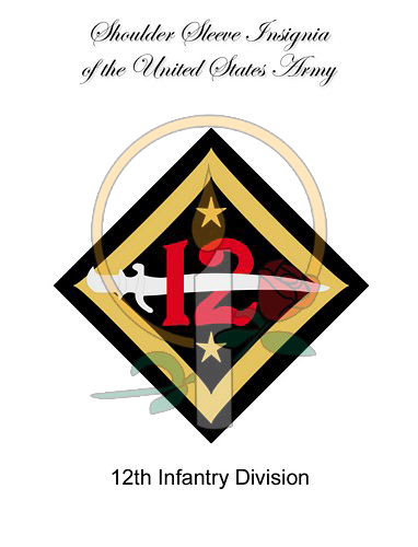 SSI Card, 12th Infantry