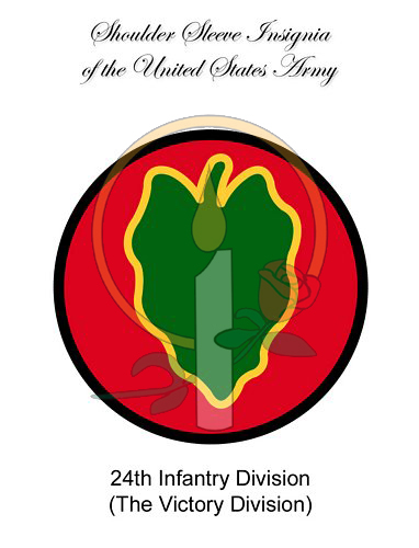 SSI Card, 24th Infantry