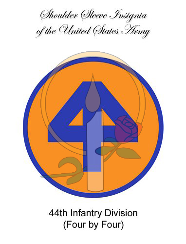 SSI Card, 44th Infantry